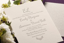 ALL NEW Weddings: Letterpress / by William Arthur Fine Stationery