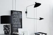 monochromatic spaces / by Abeo Design