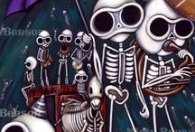 skulls / by spankyluvsvintage