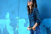 BLUE JEAN BABY / Colored, white, blue, printed jeans. / by Beso.com