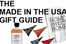 GIFT GUIDE: MADE IN THE USA / Gifts for the proud American. / by Beso.com