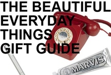 GIFT GUIDE: BEAUTIFUL EVERYDAY THINGS / by Beso.com