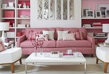 living-rooms with color / by Hanaki Hickenbottom