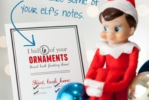 elf on the shelf ideas / by barre3  North Scottsdale