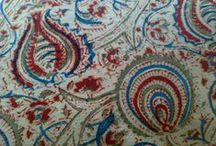 Kalamkari Fabric / Kalamkari: If You Love Organic And Eco Friendly Fabric, Then You Will Love This Hand Made Fabric. Kalamkari Fabric Designs & Prints Are Different From Indian Block Printing Technique. / by Designs By Mamta