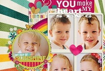 Digital Scrapbooking Inspiration / by Kirsty