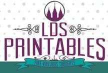 LDS Printables / Printables and quotes available to download for free. Uplifting, spiritual, and clean thoughts. See www.LDSPrintables.com for all FREE downloads. / by Nikki Yorgason