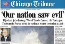 Historic Front Pages / Chicago Tribune historic front pages. / by Chicago Tribune