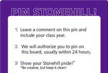 Pin your Stonehill pride! / Purple Cake Pops? Student or Alumni artwork? Campus Pics? Purple Shoes? Inspiring Alumni or Faculty? Pin your Stonehill pride right here! To pin, leave a comment with your class year and we will add you as a pinner to this board. / by Stonehill College