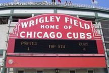 Chicago Cubs / Go, Cubs, go! Go, Cubs, go! Hey, Chicago, what do you say? The Cubs are gonna win today! / by Chicago Tribune