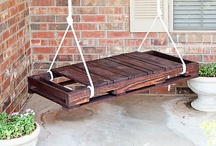 Pallet crafts / by Tracie