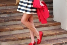 Red White & You / by Emilie M. Handbags