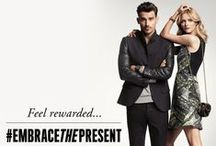 #EmbraceThePresent / Need tickets to the hottest concert?  Want seats to your favorite off-broadway show?  Or what about a ski lift pass to spend the season slope side?  This holiday season, for the chance to receive rewards like these, spend $150 or more in our retail stores or at kennethcole.com. www.kennethcolerewards.com / by Kenneth Cole Productions
