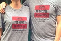 Unite The States of America / Introducing our limited-edition t-shirt designed exclusively for Human Rights Campaign / by Kenneth Cole Productions