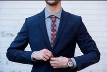 The Suit Shop / Our latest suit separates for the modern man.  / by Kenneth Cole Productions