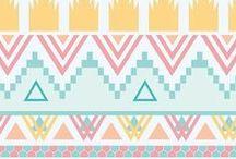Patterns - geometric / by Hanna P