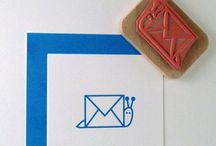 Snail mail / by Cate Brickell