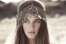 Headpiece / Bohemian Inspired Headpieces / by Gypsy☮Lolita♥