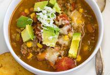 Soup, Stew, Chili....... / by Kim St Germain