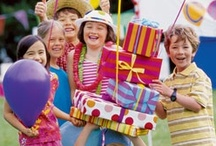 Birthdays / Birthdays are joyous milestones in a child's young life... to share with friends and family. Here are a few party ideas from Young America. / by Young America
