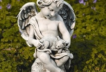 Outdoor Patio & Garden / I love gardening decor. Outdoor Water Fountains, Garden Statues, Patio Furniture / by Jodie Smith