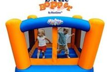 Gifts For Kids / #bouncehouse, #ridingtoys, #dollhouse / by Jodie Smith