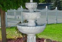 Water Features / This board has a variety of different kinds of water features! Indoor and Outdoor Water Fountains, Tabletop Fountains, Fountain accessories.  / by Jodie Smith