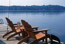 Adirondack Chairs / by Frontera Furniture