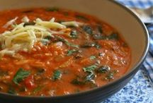 Soups, Stews & Chilis / The perfect comfort foods - soups, stews and delicious chili! / by Cassie Howard (MrsJanuary.com)