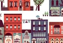 architecture+illustration / by barbara viganò