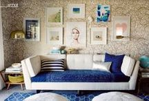 S O F A * S E T T I N G S / HOME DECOR PHOTOS FEATURING A SOFA AS THE PRIMARY FOCUS.   SOFA WALLS. BEAUTIFUL SOFAS / by Adrienne Davis