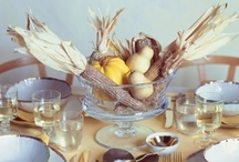 Thanksgiving / Recipes I want to try, Table Decor options, All things Thanksgiving! / by MISS Omni Media - Gabriella Khorasanee