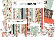 Switchboard Collection / Treasure the gift of gab and get ready to chat using the new Switchboard Collection from Pink Paislee. Arriving in stores March 2014. #pinkpaislee #scrapbooking #DIY / by Pink Paislee