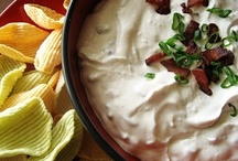RECIPES-DIPS see sauces and appetizers also / by Gayle Page-Robak