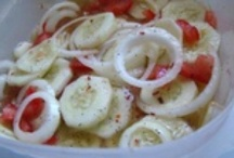 RECIPES-CUCUMBERS  / by Gayle Page-Robak