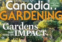 Canadian Gardening Covers / by Canadian Gardening