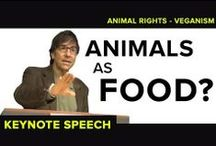 Animal Rights & Vegan Activists in the Public / A compilation of public advocates and vegan celebrities / by Bea Elliott