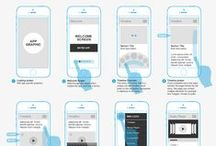 Wireframes / Wireframes are a rapid way for User Centred Designers to consider how components of a design should be laid out to aid users achieve a particular goal. #wireframes, #design  / by Robert Leotta