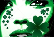 St Patrick Paddy ♣◠‿◠♣ Designs / by Bluedarkat Lem