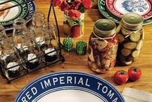 Farm To Table / Dining and home accents inspired by summer farm stands and farmhouse charm. / by Cracker Barrel Old Country Store
