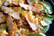 Main Dishes - Salad / by Kristen Martz