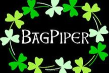 bagpipes music / by Gloria Thompson