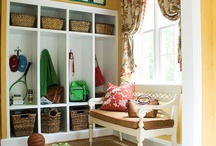 mud room / by Monika Wright
