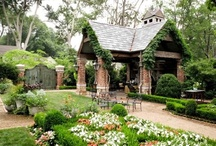 gardens / by Sherry Hart @ Design Indulgence