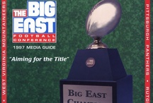 Football Media Guide Covers / by BIG EAST Conference