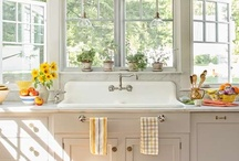 In the Kitchen / Beautiful Kitchens and Ideas to do for you own home. / by Caroline's Cakes