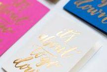 Hand Lettering & Calligraphy / by Stacey Atkinson