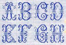 Crafts - Cross Stitch/Alphabets / by Kathy Hendricks
