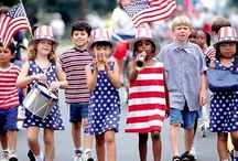 JULY 4th, FUN, FOOD & FIREWORKS! / ~All things red, white and blue! / by Diane Marecki Casteel