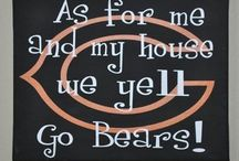 Chicago Bears / Anybody who knows me, knows that i am a HUGE chicago bears fan!!!! / by Maddie Gerber